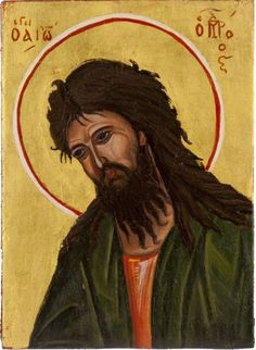 St John the Baptist handmade original painting by angelicon, €50.00