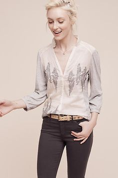 Savannah Buttondown - anthropologie.com
