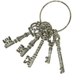 Linea Set of vintage keys (€7,93) ❤ liked on Polyvore featuring home, home decor, small item storage, fillers, keys, accessories, backgrounds, decor, sale and vintage home accessories