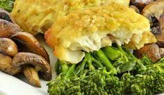 Zapečená treska s brokolicou Meat, Chicken, Food, Lasagna, Essen, Meals, Yemek, Eten, Cubs