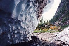 Ice Caves  - Cascade Mountain Range, Washington - Eric Bowley