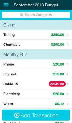 A new app for keeping your finances in check.
