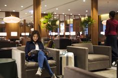 Cathay reopens renovated Taipei lounge - Business Traveller – The leading magazine for frequent flyers