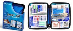 299 Piece Large Blue First Aid Kit $11.85 (Was $26) - http://www.swaggrabber.com/?p=318075