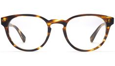 Warby Parker Percey Striped Sassafras Eyeglasses