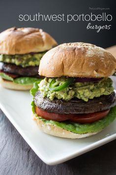 Southwest Portobello Burgers — The Local Vegan™ | Official Website