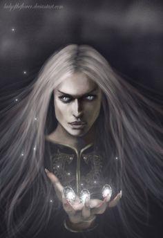 Melkor and the Silmarils - Evil in Arda by Ladyoftheflower.deviantart.com on @DeviantArt