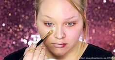 The Power of Makeup Demonstrated By This Woman