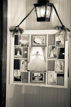 window pane bridal photos. just love the look of the window pane