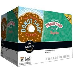 Keurig The Original Donut Shop Coffee Regular KCups 039 oz 36 count ** Learn more by visiting the image link.