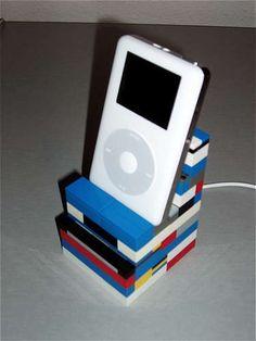 Awesome Lego iPod charging Station