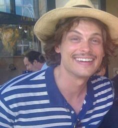 Mustache  - [#matthewgraygubler #spencerreid #criminalminds]