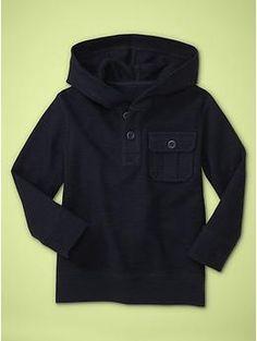 Textural pocket hoodie   Gap. 3T. $17.99