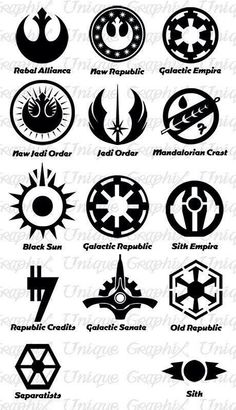 Star Wars Insignias