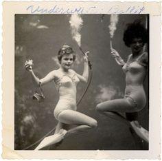 """VINTAGE- """"Underwater Ballet"""" http://www.flickr.com/photos/theowlsgo/2451968155/"""