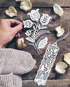 giochi di carta: New Floral Paper cutting