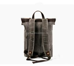 Leather Canvas Backpack (9) Canvas Backpack, Laptop Backpack, Travel Bags, Backpacks, Bradley Mountain, Leather Bag, Travel Handbags, Travel Tote, Backpack