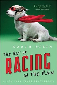 The Art of Racing in the Rain by Garth Stein. For dog lovers out there. Absolutely one of the most heart-warming books I have read. Dog Books, Book Club Books, The Book, Book Art, I Love Books, Great Books, Books To Read, Thing 1