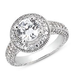 Schneider's Jewelers :: Diamond Accent Engagement Ring Mounting  - Configurable