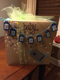 Baby shower gift decorations