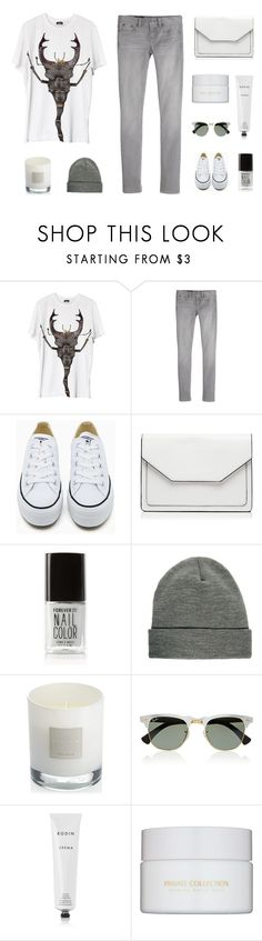 """""""Stag Beetle"""" by due-fashion ❤ liked on Polyvore featuring J.Crew, Converse, Forever New, Forever 21, ASOS, Jigsaw, Ray-Ban, Rodin and Estée Lauder"""