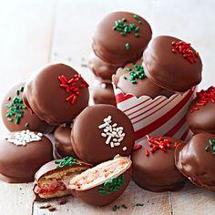 Chocolate-Cherry Dips
