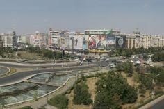 Piaţa Unirii, magazinul Unirea. Bucharest, Our World, Romania, Street View
