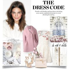 The Dress Code by amymrbll on Polyvore featuring мода, RED Valentino, Delpozo, Giuseppe Zanotti, Hermès, Prada and SpringStyle