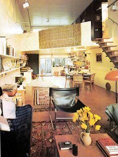 A House and Garden Book, Melinda Davis, New York, 1970s Decor, Retro Home Decor, Bubble House, Vintage Interiors, Living Room Paint, Living Rooms, Open Plan Living, Inspired Homes, Interiores Design