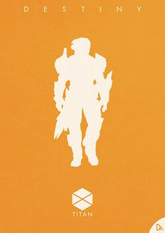 Who's ready for Destiny? #gaming #art #poster by Dennis Au | DeviantArt