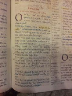 The Talbert Report: Psalm 94
