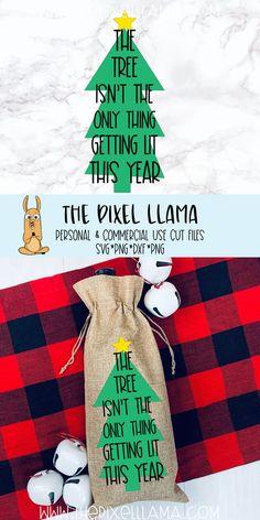 Llama Christmas, Christmas Wine, Christmas Svg, Diy Christmas Gifts, Christmas Shirts, Holiday Gifts, Christmas Ornaments, Wine Bottle Crafts, Wine Bottles