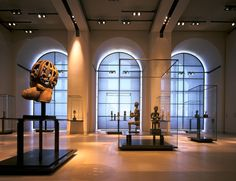 Wilmotte Associés S. Louvre Museum, Department of Tribal and Aboriginal Arts - Pictures Exhibition Space, Museum Exhibition, Art Museum, G Gallery, Louvre Museum, Museum Lighting, Architectural Lighting Design, Art Premier, Museum Displays