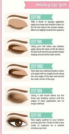 a basic smokey eye tutorial you can apply yo any color scheme