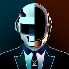 Click the Pic to win a chance to meet Daft Punk! Home Music, Dj Music, Music Bands, Dance Music, Thomas Bangalter, Culture Art, Pop Culture, Daft Punk Poster, Sketch Manga