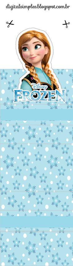 Frozen: Envoltorios Gratis para Paquetes de Chicles o Golosinas.