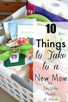 Survival Kits for New Moms - This Little Home of Mine
