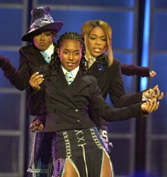 TLC Left Eye, Chilli, and T Boz 1995