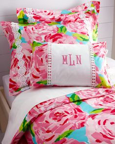 Lilly Pulitzer Sister Florals Comforter Cover Collection- IN LOVE WITH THIS