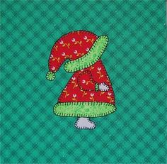 Free Sue Bonnet Quilt Patterns | tomorrow is birmingham quilters guild s annual christmas party i made ...