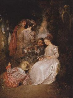Jean-Antoine Watteau, 1720