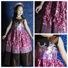 #kids #dress #fantasy #mydream #цветы #ренессанс #renaissance #flowers #кукла #doll #платьеврусскомстиле #русскийстиль #russianstyle #kids #дети #jenkasfashion