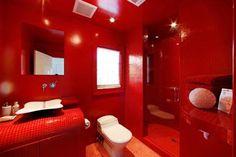 rode badkamer tegel - Google zoeken