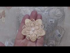 Paper Flowers Tutorial using Aliexpress dies - YouTube