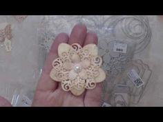 Spiral Flower Tutorial using Aliexpress die - YouTube