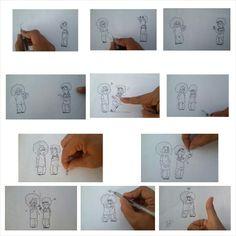 My sketch comic hehe