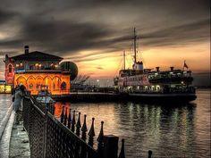 Kadıköy Pier, Istanbul, Turkey... @ivannairem .. https://tr.pinterest.com/ivannairem/istanbul/