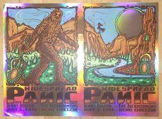 2016 Widespread Panic - Foil Variant Uncut Silkscreen Concert Poster by Jeff Wood