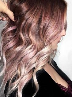 See here the beautiful chocolate and red hair color highlights for 2018. There is no other hair color to sport in 2018 for best hair look. Ladies with long, short and medium hair can choose this amazing hair colors to get charming and cute look.