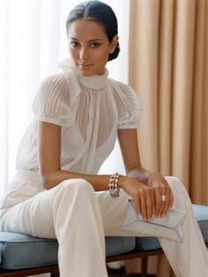 Elegant blouse.